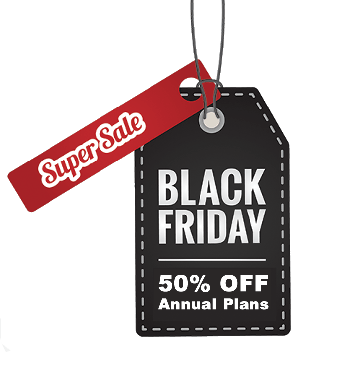 Black Friday 50 off